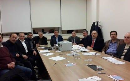 KOMATDER Yönetimi İlk Toplantısını Yaptı