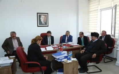 Başkan Çelik'ten MHP Grubu'na Ziyaret