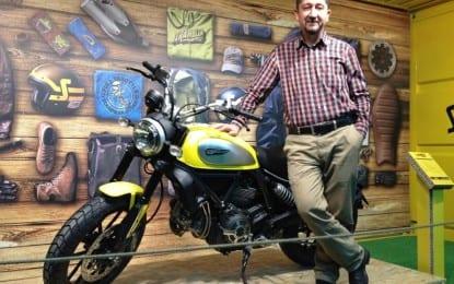 Dağcı Rıdvan Şükür, Eurasia Moto Bike Fuarına Katıldı