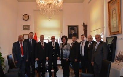 Bulgaristan Ram Trakia Heyeti'nden Başkan'a Ziyaret