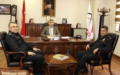 Mobesko Başkanı'na Emniyetli Ziyaret
