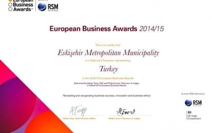 European Business Awards Oylamasında Türkiye Birincisi Oldu