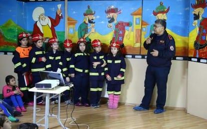 Bilgi Evi ve Kurs Merkezi Öğrencilerine Yangın Eğitimi