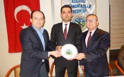 Sp Milletvekili Aday Adayı Av. Fatih Polat Kocaeli Kandıralılar Derneğinde..