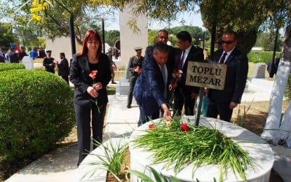 Gazimağusa Belediyesi  Çanakkale Şehitlerinin Anısına  Anma Etkinliği Düzenledi