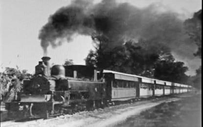 """Buğday Camii'nde""""Kıbrıs'ın Geçmişinde  Tren Yolculuğu"""" Etkinliği Yapılıyor"""