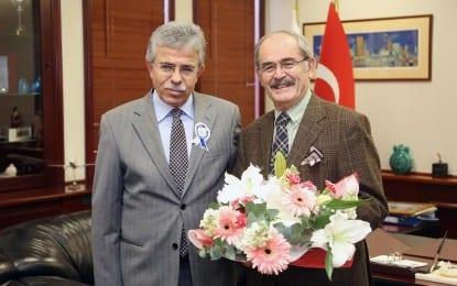 Vergi Dairesi Başkanı Özbakır'dan  Büyükerşen'e Ziyaret