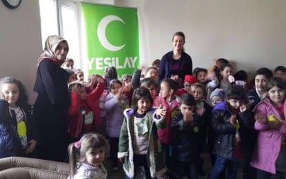 Ana Okulları Yeşilay'ı Ziyaret Ediyor