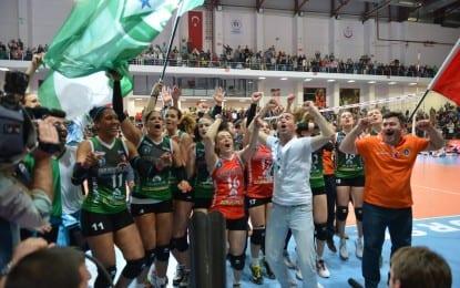 Voleybol Takımımız 'Avrupa Şampiyonu` Oldu
