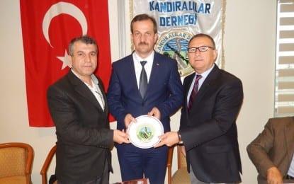 Süleyman Pekin Kocaeli Kandıralılar Derneğinde..