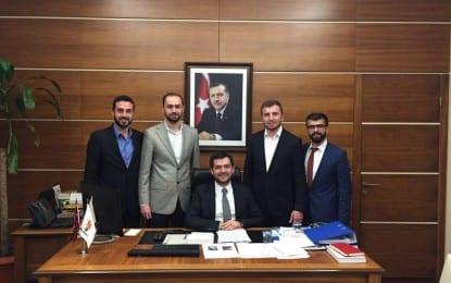 AK Parti Sakarya Gençlik Kolları'ndan Boynukalın'a Ziyaret
