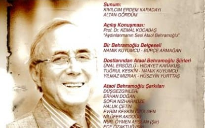Ataol Behramoğlu'nun 50. sanat yılı İzmir'de kutlanıyor