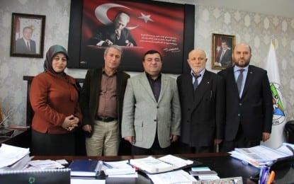 Başkan Kocatepe'nin Batum'dan Ziyaretçileri Vardı