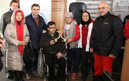 Engelliler,Festival İçin Erciyes'te Buluştu