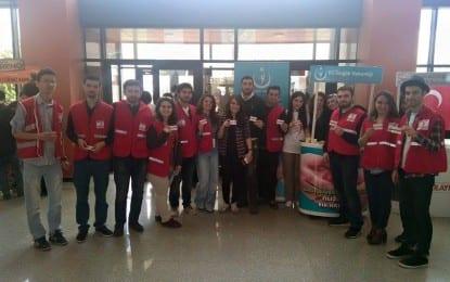 Türk Kızılayı Kocaeli Kızılay Kan Bağış Merkezi Festivalde Yerini Aldı