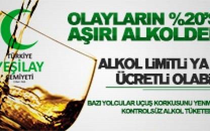 """Yeşilay Uyardı: """"Alkole Ve Şiddete Hayır!"""""""