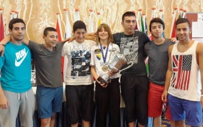 Gazimağusa Belediyesi MGA Bilardo Takımı  Çifte Şampiyonluk Elde Etmeye Çok Yakın