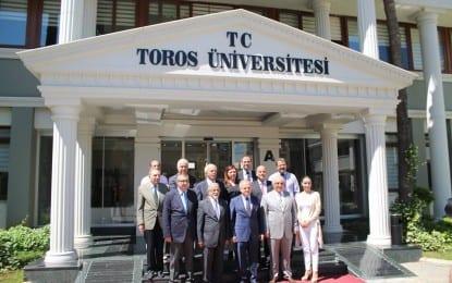 Vali Çakacak Toros Üniversitesi'nden Memnun Ayrıldı