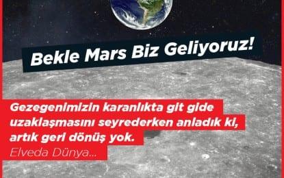 Mars'a Giden Yol BTM'den Başlıyor