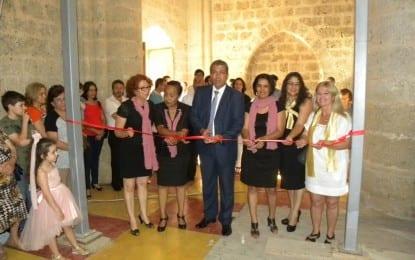 23. Gazimağusa Çocuk Festivali'nde MKD'nin  Kültürümüzü Yaşatalım Sergileri Açıldı