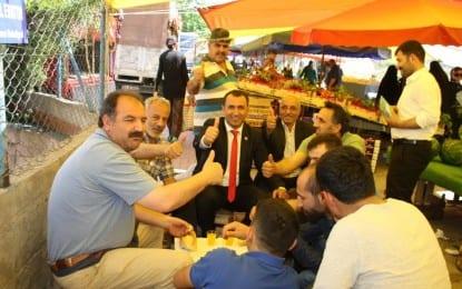 Aksu'dan Pazar Ziyareti