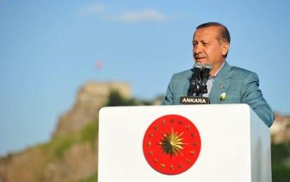 Cumhurbaşkanı Erdoğan İle Başkan Gökçek Hacı Bayram Camii Çevre Düzenlemesi ve Kitapçılar Çarşısının Açılışını Yaptı…