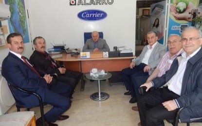 MHP Kocaeli Vekil Adayı Pekin'den Akşener'e Ziyaret