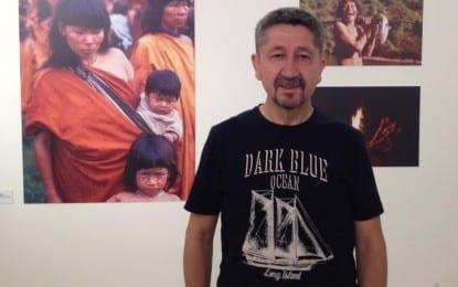 """Rıdvan Şükür, """"Peru Amazonları """" Fotoğraf sergisinde"""