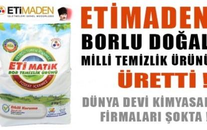 Maden İşletmeleri Genel Müdürlüğü Göğsümü Kabarttı !!!