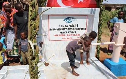 Mehmet Baransu Kenya'da Su Kuyusu açtı