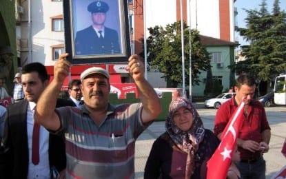 Turgutlu Şehit ve Gazi Ailelerinden Sessiz Terör Çığlığı