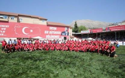 TÜRK'ÜN ER MEYDANINDA TARİHİ REKOR