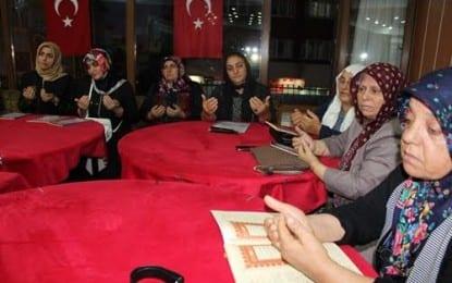 Erzurumlu kadınların gözleri yaşlı