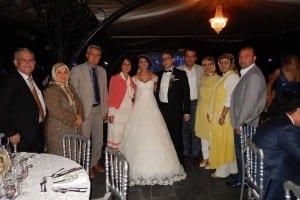 Merve Dermenci ile Cihan Yüzbaşıoğlu İstanbul'da evlendi