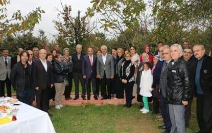 Kocaeli'de yaşayan Abhazlar Derbent'te buluştu