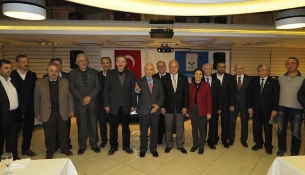Aydınlar Ocağı Eski Bakan Yaşar YAKIŞ'I Ağırladı