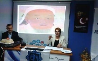 """Doç. Dr. Meryem Gürbüz; """"Ortaçağ'da siyasetin dili şiddettir"""" Moğol zulmünün Batı'ya olan Türkmen göçünün hızlandırarak Anadolu'nun Türk vatanı olmasında büyük rol oynadı"""