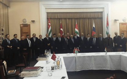 Türkiye ve Rusya resmen Abhazya'da görüştü