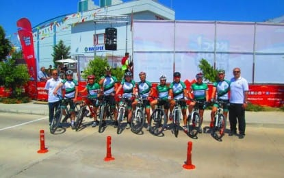 Kocaeli'li Bisikletçiler Antalya'dan derece ile döndü