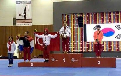 Taekwondo Poomse Milli Takımı, 15 Temmuz Demokrasi Şehitlerini  unutmadı