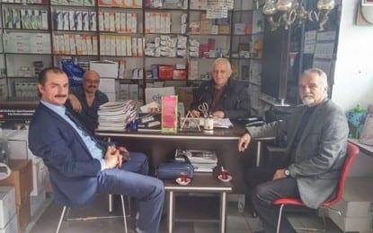 Yusuf Ünel'den Ahmet Bahar'a Ziyaret
