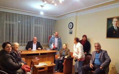 Körfez İlçe Başkanlığı Toplantılarına Aralıksız devam ediyor