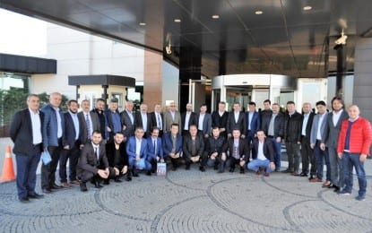 Trabzonlu Başkanlar Şekerpınar da Buluştu