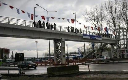 Vali Güzeloğlu Şehit Kaymakam Muhammet Fatih Safitürk Köprüsünün Açılışını yaptı