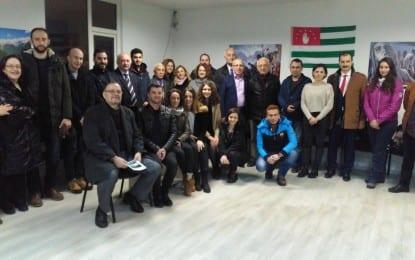 DSP  İl Yönetiminden Kocaeli Abhaz Derneği'ne ziyaret