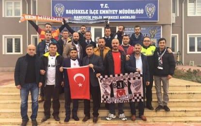Başiskele Beşiktaşlılar Derneği'nden İlçe Emniyet Müdürüne Taziye ziyareti