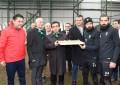 Vali Güzeloğlu, Kocaelispor Kulüp Başkanı Bahri Yavuz ve futbolcuları ile bir araya geldi