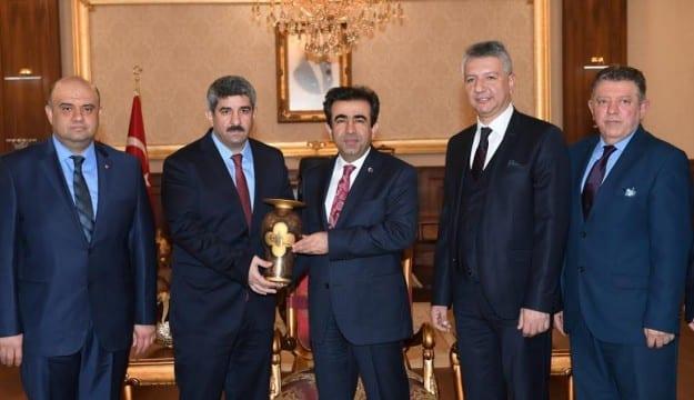 KOTO Yeni Yönetimi Vali Güzeloğlu'nu ziyaret etti
