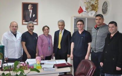 Başkan Çeker ziyaretlere devam ediyor