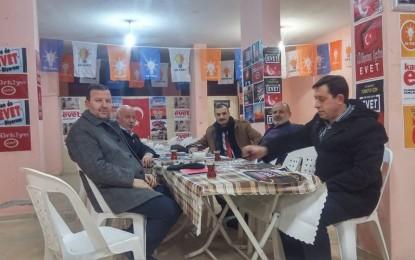 """Ak Parti SKM Başkanı Aydın """"Evet"""" Denetimde"""